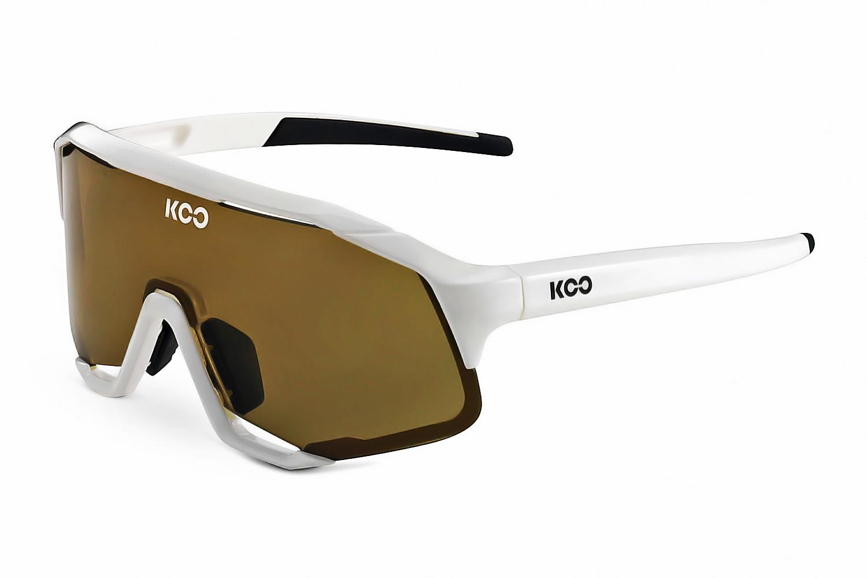 Очки солнцезащитные Koo DEMOS (white/light brown)
