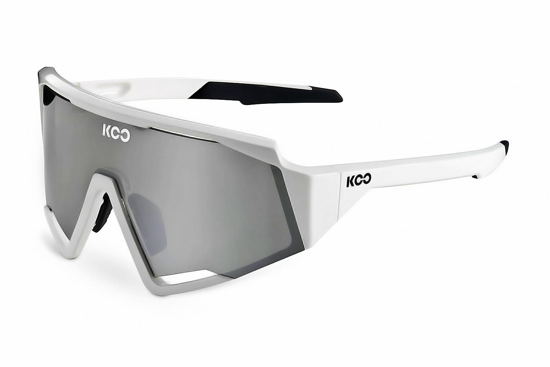 Очки солнцезащитные Koo SPECTRO (white/silver mirror)