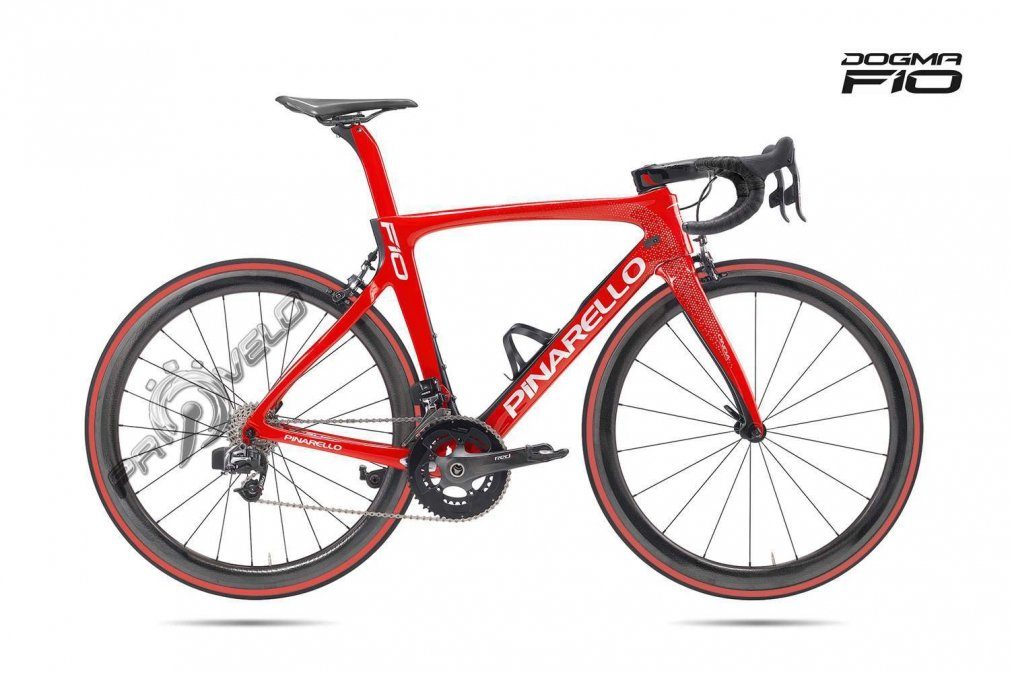 Pinarello DOGMA F10 Red Magma Sram RED E-TAP Easton EC90 SL (2018)