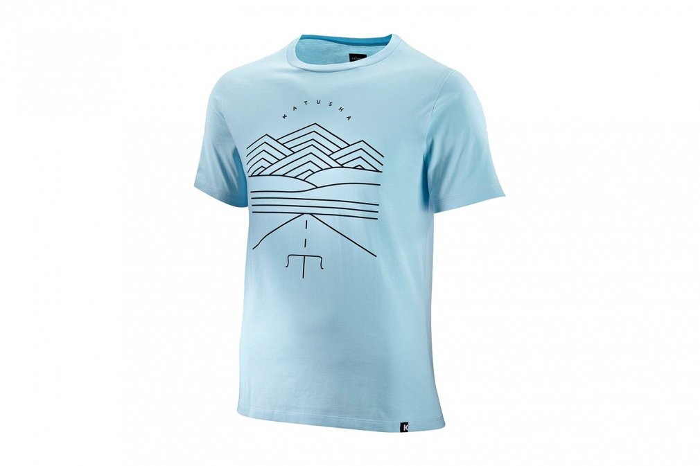 Футболка Katusha COTTON T-SHIRT SS blue