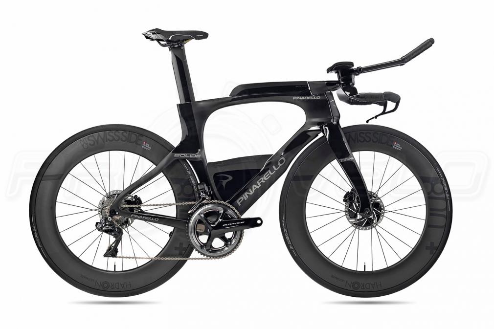 Pinarello BOLIDE TR + bob Shimano DURA-ACE Di2 Fulcrum WIND 400 DB triathlon bike (2020)