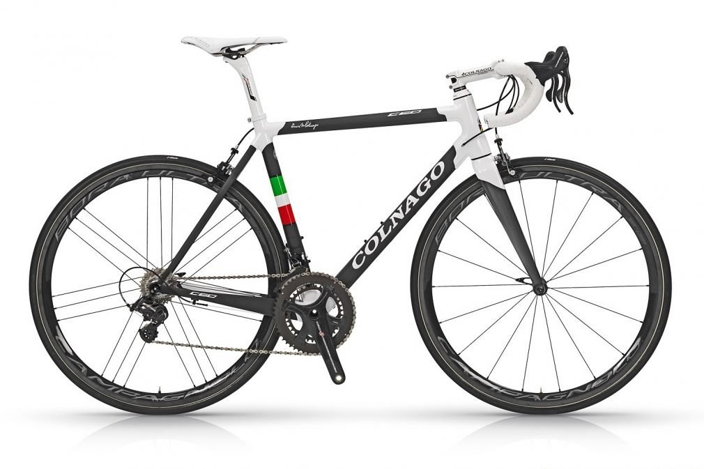 Шоссейный велосипед Colnago C60 Campagnolo SUPER RECORD Fulcrum RACING QUATTRO CARBON (2018)