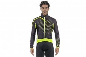 Pinarello TOUR winter jacket (blk/ylw)
