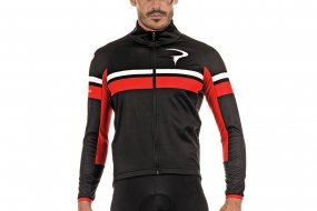 Pinarello CORSA winter l/s jersey (red)