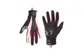 Nalini PRIME THERMO GLOVES (чёрно-белые)